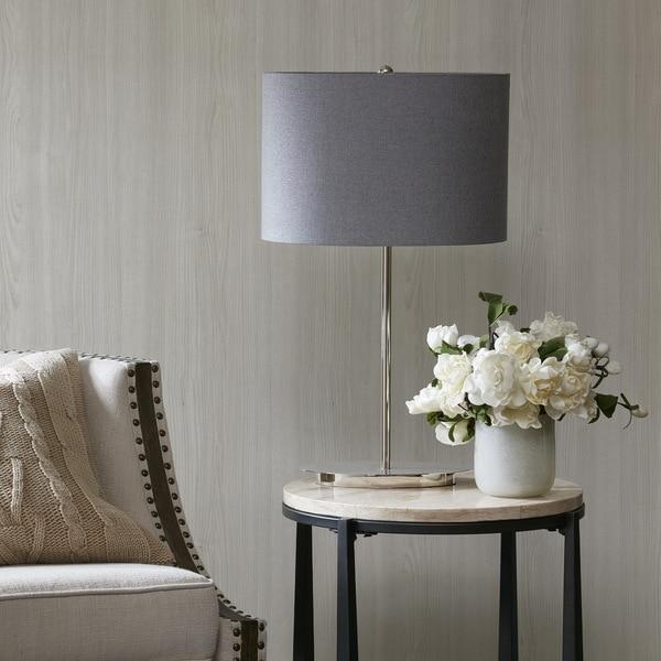 Madison Park Signature Circa Silver Table Lamp