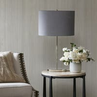 Madison Park Signature Circa Silver Table Lamp