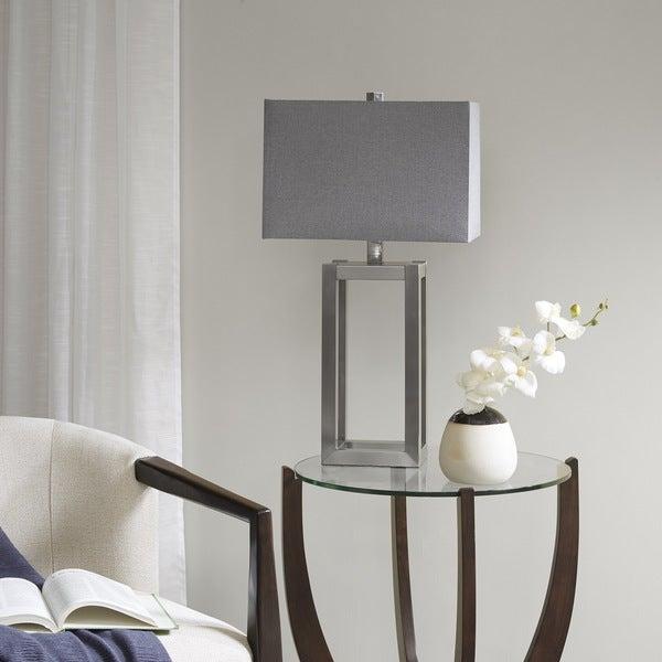 Madison Park Hampton Silver Table Lamp