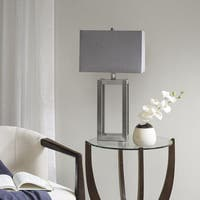 Madison Park Hampton Silver Table Lamp