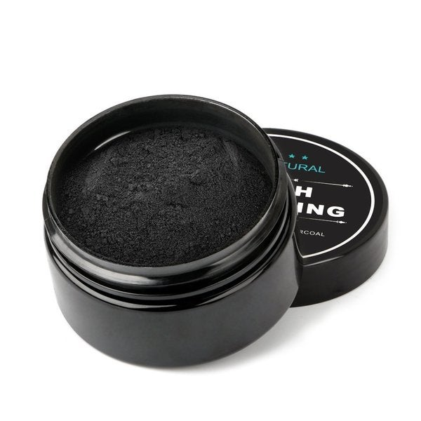 Natural Teeth Whitening 1.06-ounce Activated Charcoal Powder
