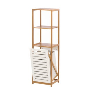 Koehler home decor Bamboo Hamper Storage Shelves