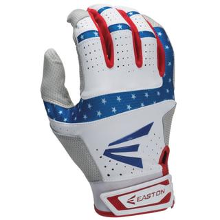 Easton HS9 Men's Batting Gloves Stars & Stripes