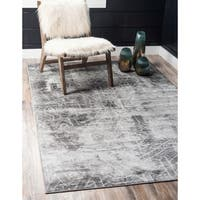 Unique Loom Rainier Sofia Area Rug - 8' 0 x 10' 0