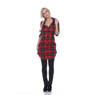 Link to White Mark Piper Plaid Tunic Similar Items in Tops