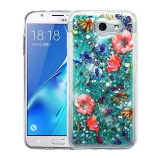 Insten Colorful Watercolor Flowers Hard Snap-on Case Cover For Samsung Galaxy Amp Prime 2/ Express Prime 2/ J3 (2017)/ J3 Emerge