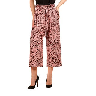 Bluberry Women's Knit Culotte