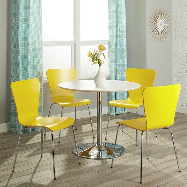 Discount Dining Room Sets Free Shipping: Simple Living Pisa Modern 5pc Dining Set
