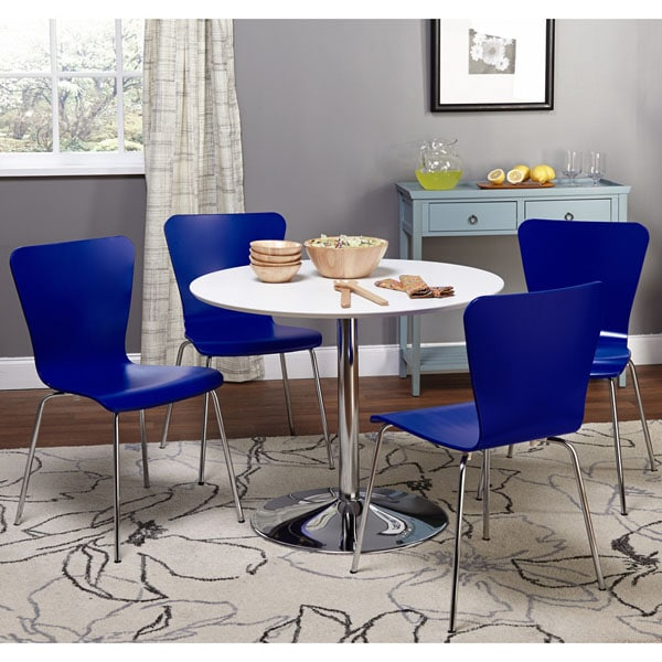 Simple Living Room Furniture Big: Simple Living Pisa Modern 5pc Dining Set