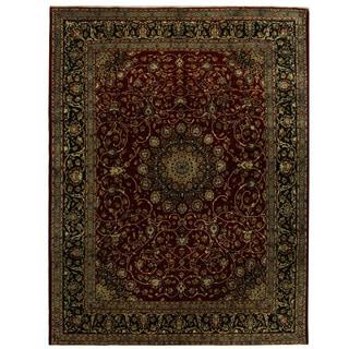 Herat Oriental Persian Hand-knotted Tribal Kashmar Wool Rug (10'1 x 13'2)