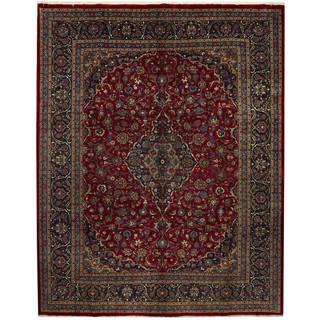 Handmade One-of-a-Kind Kashmar Wool Rug (Iran) - 10'1 x 12'8
