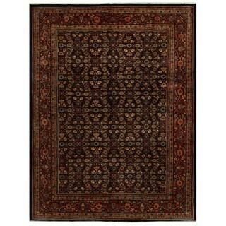 Handmade Herat Oriental Persian Tribal Mahal Wool Rug - 9'10 x 12'10 (Iran)