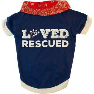 Miranda Lambert's Mutt Nation Dog T-Shirt-Loved & Rescued