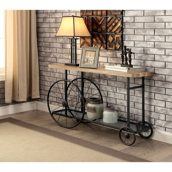 Sand Black Console Table