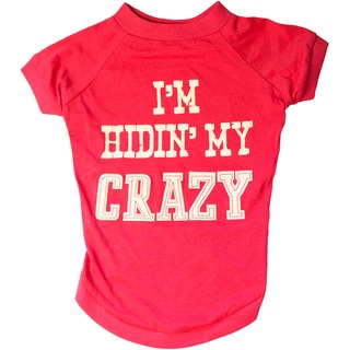 Miranda Lambert's Mutt Nation Dog T-Shirt-I'm Hiding My Crazy
