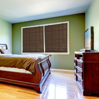 Radiance Venezia Cocoa Bamboo Rollup Blind