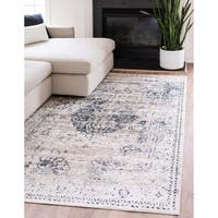 Unique Loom Hoover Villa Area Rug - 8' 0 x 10' 0