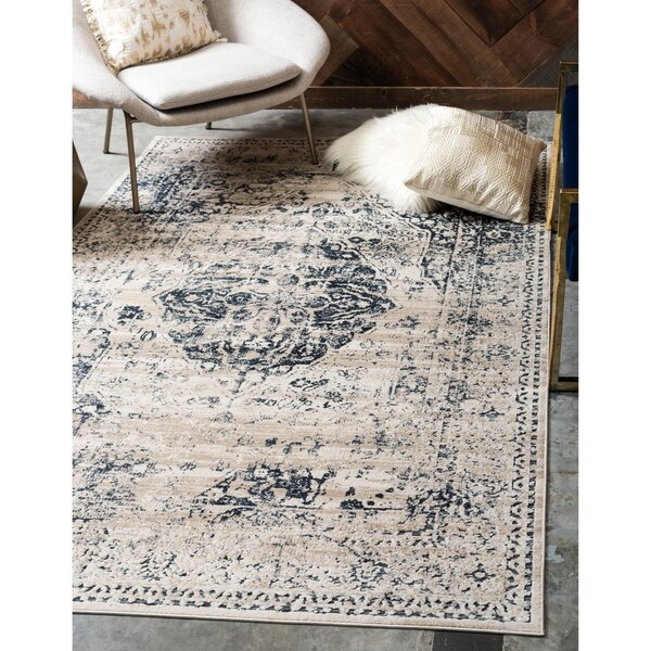 Unique Loom Hoover Chateau Rug - 8' x 10'
