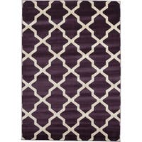 Unique Loom San Antonio Trellis Area Rug - 7' x 10'