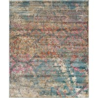 Unique Loom Uppsala Aurora Area Rug - 8' x 10'