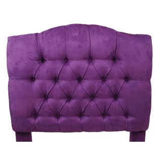 Brighton Home Furniture Tufted Microfiber Twin Headboard