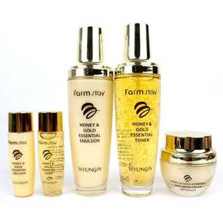 Farm Stay Honey & Gold Essential Skin Care 3-piece Gift Set