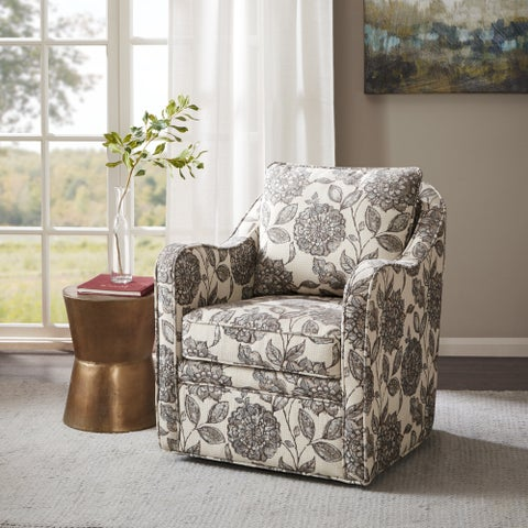 Madison Park Betty Swivel Chair 2-color Option