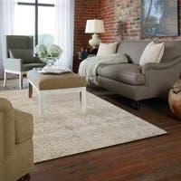 Gertmenian Avenue33 Beige Hand-tufted Wool Textured Area Rug (5' x 7') - 5' x 7'