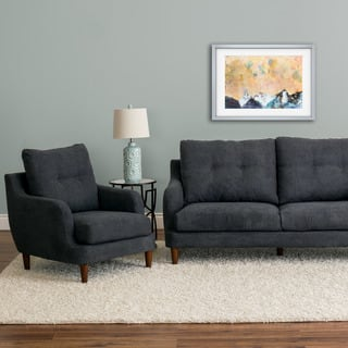 CorLiving Victoria Fabric 2pc Chair and Sofa Set|https://ak1.ostkcdn.com/images/products/16340455/P22701269.jpg?impolicy=medium