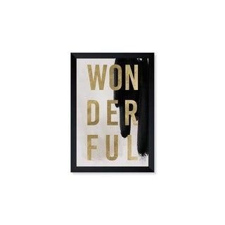 Oliver Gal 'Wonderful Neutral' Framed Art