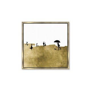 Oliver Gal 'On A Windy Day' Framed Canvas Art