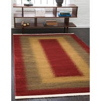 Unique Loom Empress Fars Area Rug - 6' x 9'