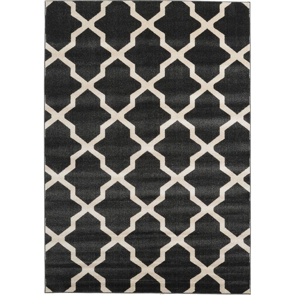 Unique Loom San Antonio Trellis Area Rug 7 X27