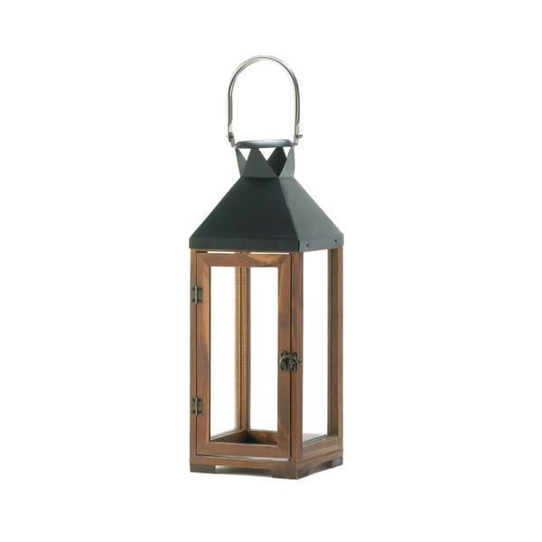Shop koehler home decor hartford brown metal and wood for Koehler home decor