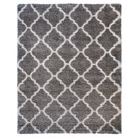 Gertmenian Avenue33 Ultimate Grey Tile Shag Rug - 7'10 x 10'