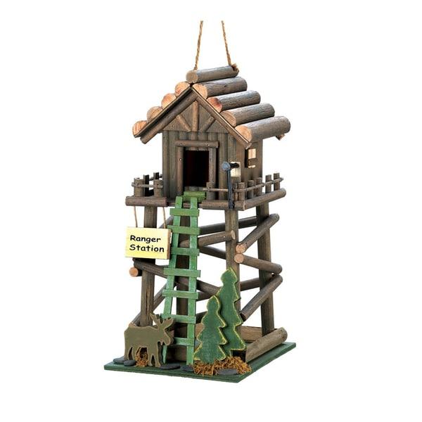Shop Koehler Home Decor Ranger Station Wooden Birdhouse