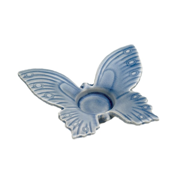 Koehler Home Decor Blue Butterfly Tealight Holder