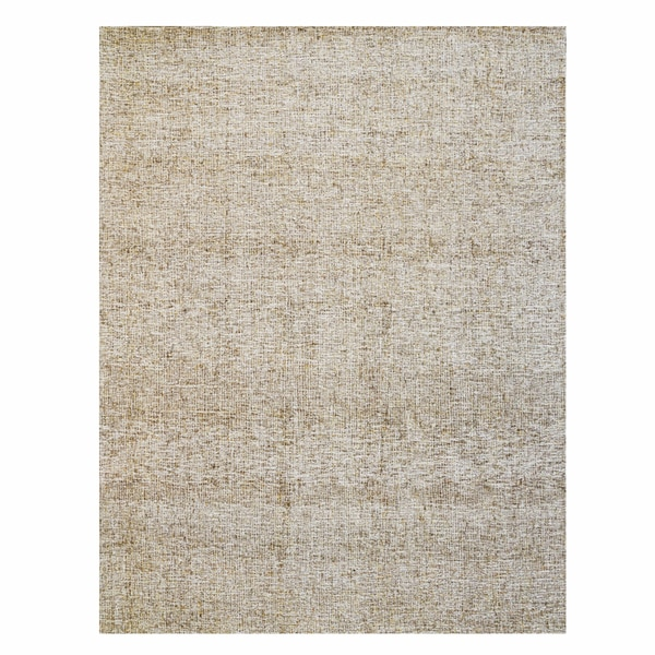 Gertmenian Avenue33 Beige Hand-tufted Wool Textured Area Rug (8'0 x 10'0)