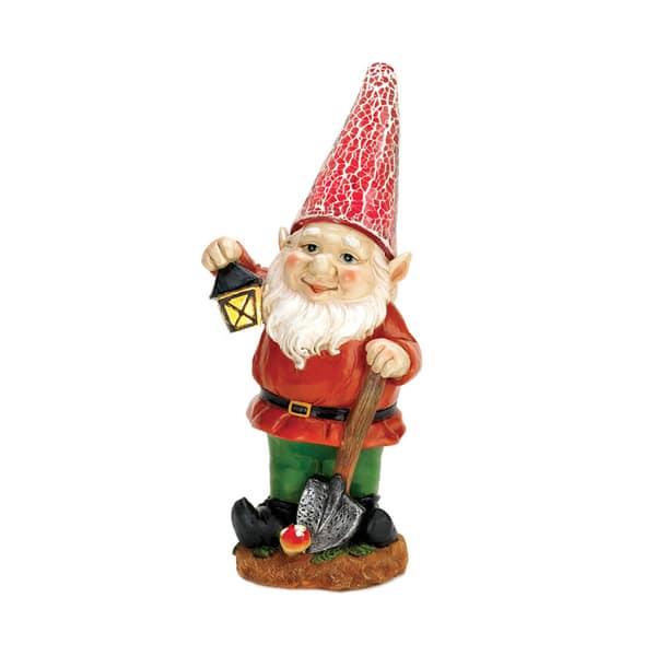 Home Decor Plastic Little Lantern Gnome