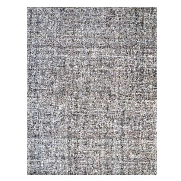 Gertmenian Avenue33 Taupe Textured Wool Hand-tufted Rug (8' x 10')
