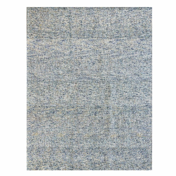 Avenue33 Texture Wool Blue Rug (8' x 10') by Gertmenian - 8' x 10'