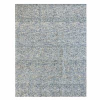 Gertmenian Avenue33 Traditional Blue Wool Hand-Tufted Rug (8' x 10')
