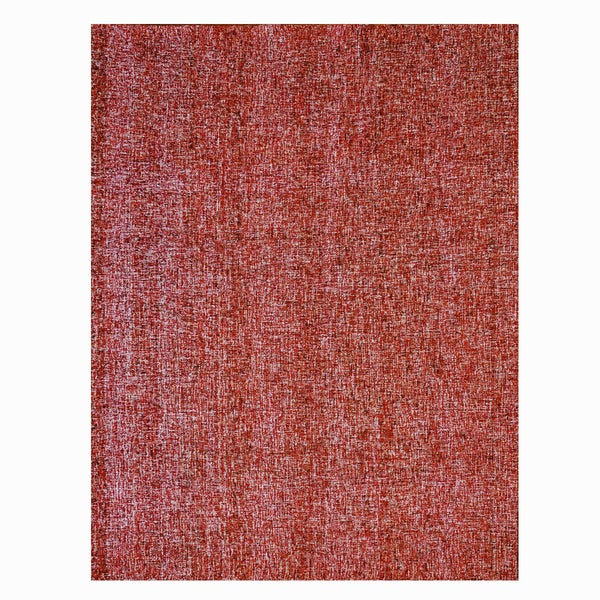 Gertmenian Avenue33 Red Hand-tufted Wool Rug (8' x 10')