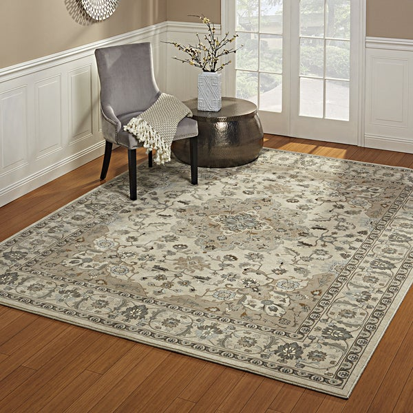 Gertmenian Avenue33 Majestic Chilton Ivory Olefin Area Rug (9' x 13'1)