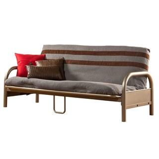 Hillsdale Furniture Geneva Pewter Finish Full-size Futon