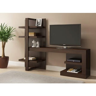 Ideaz International 26102 Onix Espresso TV Cabinet
