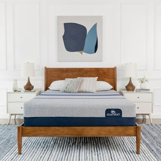 Serta iComfort Blue Max 1000 13-inch Cushion Firm California King-size Gel Memory Foam Mattress Set