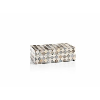 7-Inch Long Crozet Mother of Pearl Box