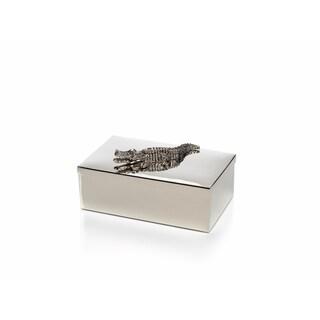 """Crocodile"" 9"" Long Decorative Box"