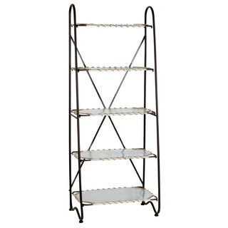 Armond Farmhouse Shelf Unit